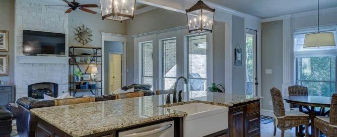 Short-term rental Airbnb interior
