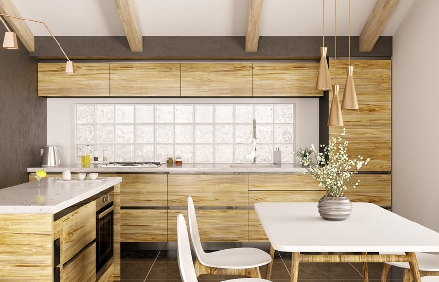 Short-term rental property interior