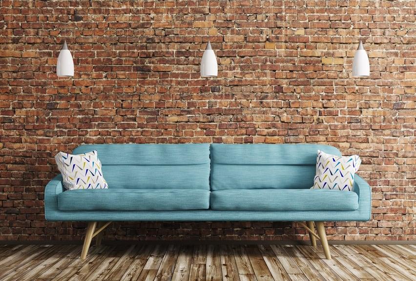 Short-term rental living room