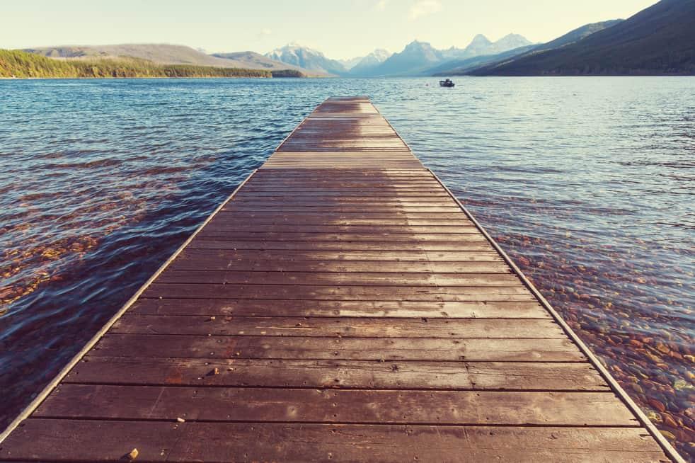 Airbnb laws in MT, glacier lake